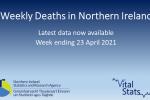 Weekly Deaths Bulletin Week ending 23 April 2021