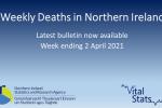 Weekly Deaths Bulletin Week ending 2 April 2021