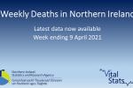 Weekly Deaths Bulletin Week ending 9 April 2021