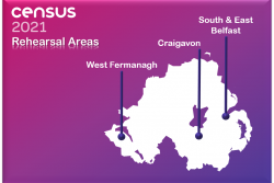 Census rehearsal areas
