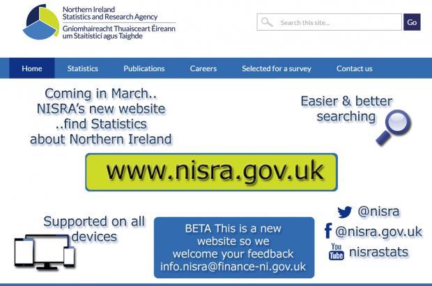 NISRA new website